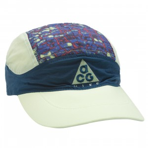 Nike Men Acg Tailwind Adjustable Hat (blue force / barely volt / barely volt)