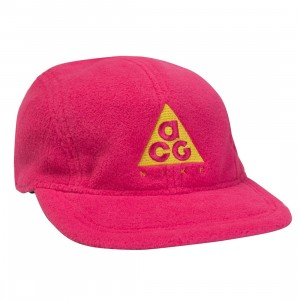 Nike Men U Nrg Aw84 Cap Acg Fleece Cap (rush pink / opti yellow)