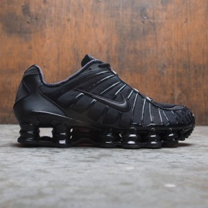 outlet store fb33e 63d91 Nike Men Shox Tl (black   black-black)