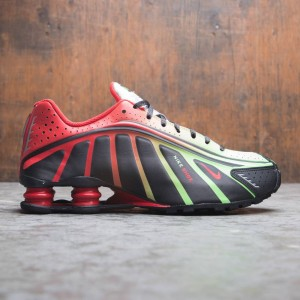 Nike Men Shox R4 - Neymar Jr (black / challenge red-metallic silver)