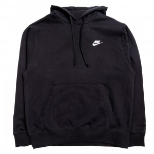 Nike Men Sportswear Club Fleece Hoody (black / black / white)