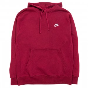 Nike Men Sportswear Club Fleece Hoody (dark beetroot / dark beetroot / white)