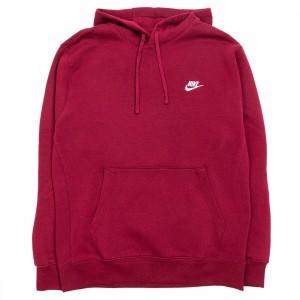 Nike Men Sportswear Club Fleece Hoody (dark beetroot / dark beetroot / white)