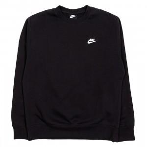 Nike Men Sportswear Club Fleece Long Sleeves Tee (black / white)