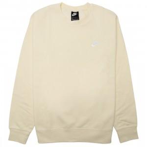 Nike Men Sportswear Club Fleece Crewneck (coconut milk / white)