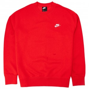 Nike Men Sportswear Club Fleece (university red / white)