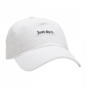 Nike Men Nrg H86 Jdi Cord Adjustable Cap (white / black)