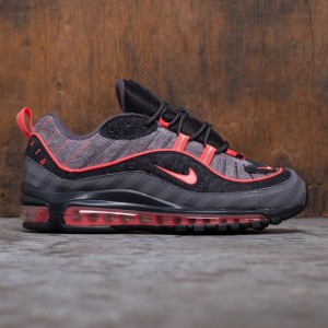 Nike Men Air Max 98 (gunsmoke / lava glow-thunder grey-oil grey)