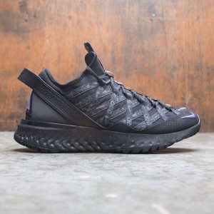 Nike Men Acg React Terra Gobe (black / space purple-anthracite)