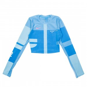 Nike Women X Off-White Nrk Easy Running Top (photo blue)