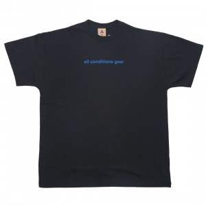 Nike Men Nrg Acg Gx 3D Logo Tee (black / game royal)