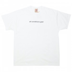 Nike Men Nrg Acg Gx 3D Logo Tee (summit white / black)