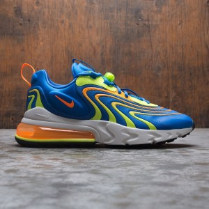 Nike Men Air Max 270 React Eng (soar / total orange-volt-platinum tint)