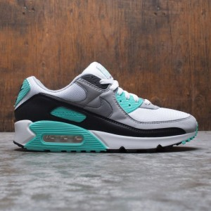 Nike Men Air Max 90 (white / particle grey-hyper turq-black)