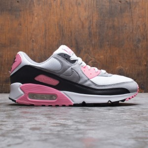 Nike Men Air Max 90 (white / particle grey-rose-black)