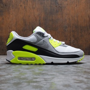 Nike Men Air Max 90 (white / particle grey-volt-black)