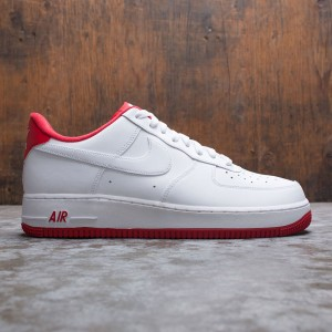 Nike Men Air Force 1 '07 (white / university red)