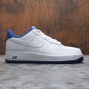 Nike Men Air Force 1 '07 (white / deep royal-white)