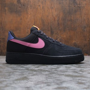 Nike Men Air Force 1 '07 Lv8 (black / magic flamingo-persian violet)
