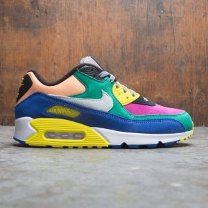 2355707fed Nike Men Air Max 90 Qs (lucid green / barely grey-game royal)