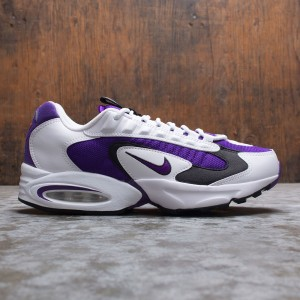 Nike Men Air Max Triax 96 (white / voltage purple-black-hyper crimson)