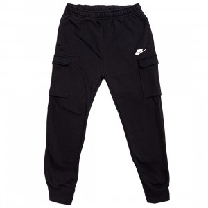 Nike Men Sportswear Club Fleece Cargo Pants (black / black / white)