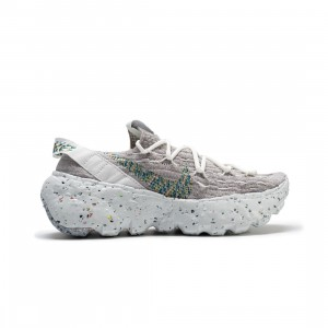 Nike Women Space Hippie 04 (summit white / mean green-photon dust)