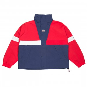 NikeLab Men Nrg Swoosh Stripe Jacket (university red / midnight navy)
