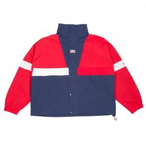NikeLab Men Nrg Swoosh Stripe Jacket (university red / midnight navy)