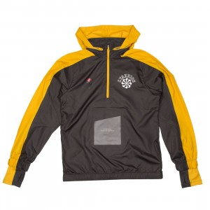 Nike Men Nrg Na Jacket Hoody Hz - Gyakusou (deep pewter / mineral yellow)