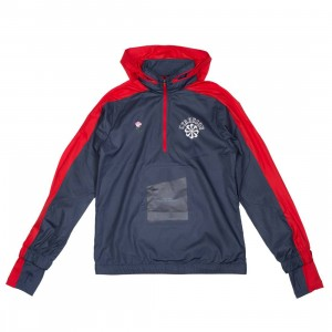 Nike Men Nrg Na Jacket Hoody Hz - Gyakusou (thunder blue / sport red / sail)
