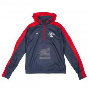 Nike Men Nrg Na Jacket Hoody Hz - Gyakusou (thunder blue / sport red / sail)