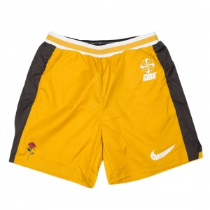 Nike Men Nrg Na Utility Shorts - Gyakusou (mineral yellow / deep pewter / sail)