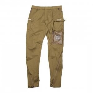 Nike Men M Nrg Tc Pants (lichen brown / white)