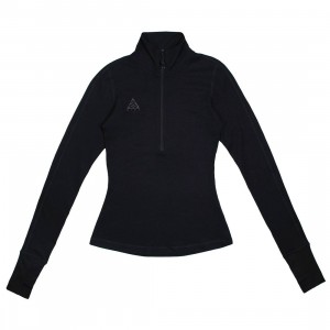 Nike Women Nrg Acg Thermal Long Sleeves Tee (black / anthracite)