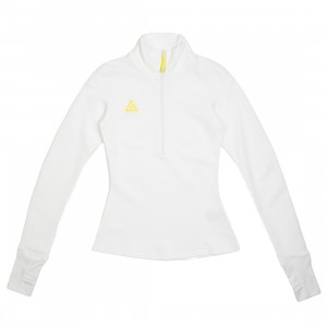 Nike Women Nrg Acg Thermal Long Sleeves Tee (summit white / opti yellow)