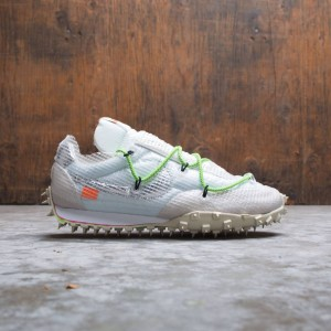 Nike Women W Waffle Racer / Ow (white / black-electric green)