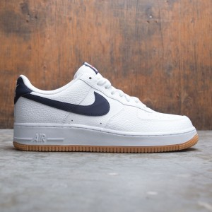 Nike Men Air Force 1 (white / obsidian-university red)