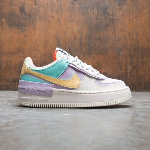 Nike Women Af1 Shadow (pale ivory / celestial gold-tropical twist)