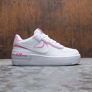 Nike Women Air Force 1 Shadow (white / white-magic flamingo)