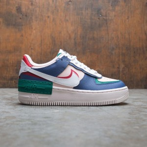 Nike Women Af1 Shadow (mystic navy / white-echo pink-gym red)
