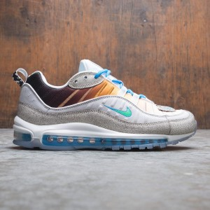 Nike Men Air Max 98 On Air Gabrielle Serrano (vast grey / electro green-blue hero-white)