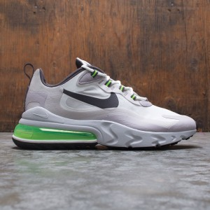 Nike Men Air Max 270 React (summit white / electric green-vast grey)