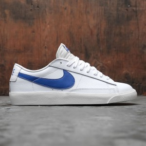 Nike Men Blazer Low Leather (white / astronomy blue-sail)