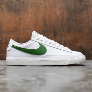 Nike Men Blazer Low Leather (white / forest green-sail)