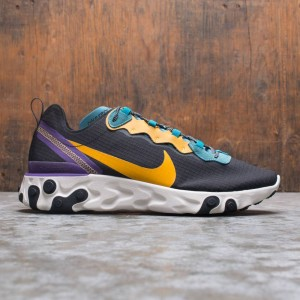 Nike Men React Element 55 (black / pollen rise-mineral teal)