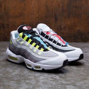 Nike Men Air Max 95 (black / multi-color-gunsmoke-iron grey)