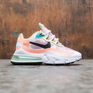 Nike Women Air Max 270 React Se (lt arctic pink / black-orange pulse-white)