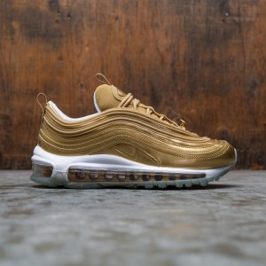 Nike Women Air Max 97 Lx (metallic gold / metallic gold-white)