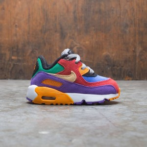 Nike Toddlers Air Max 90 Qs (university red / pale vanilla-hyper grape)